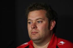 Dave Greenwood, Marussia in the FIA Press Conference