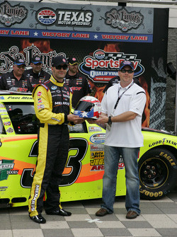 Pole winner Paul Menard