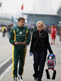 Oksana Kosachenko, Manager of Vitaly Petrov, Caterham