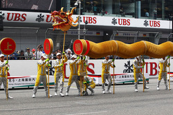 Pre race display