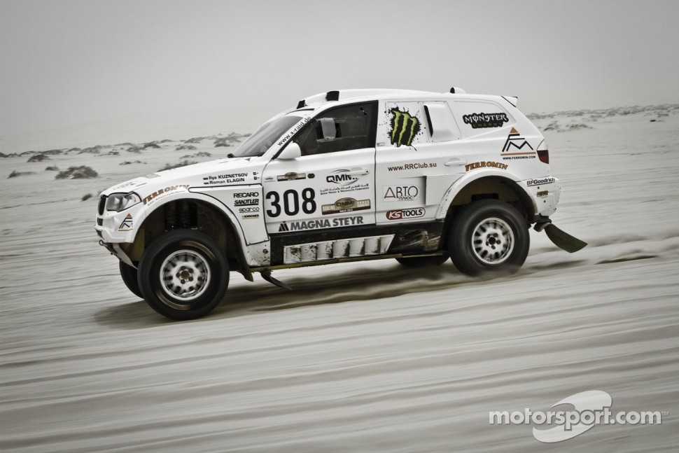 #308 BMW X3: Ilya Kuznetsov and Roman Elagin