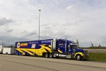 Martin Truex Jr.'s hauler