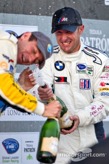 ALMS GT podium: second place Joey Hand