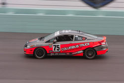 #75 Compass360 Racing Honda Civic SI: Ryan Eversley, Ray Mason