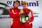 GT podium: class winners Emil Assentato and Jeff Segal