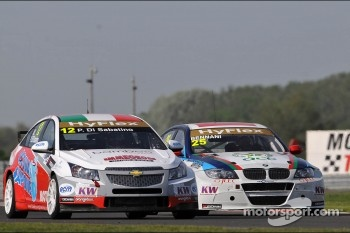 Pasquale di Sabatino, Chevrolet Cruze 1.6T, bamboo-engineering and Mehdi Bennani, BMW 320 TC, Proteam Racing