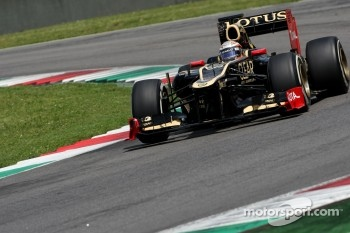 Jerome d'Ambrosio, third driver,  Lotus F1 Team