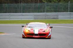 #51 AF Corse Ferrari 458 Italia: Giancarlo Fisichella, Gianmaria Bruni