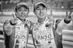 GT500 winners Juichi Wakisaka and Hiroaki Ishiura