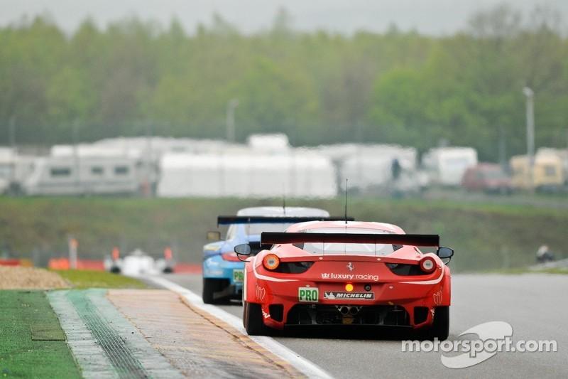 #59 Luxury Racing Ferrari 458 Italia: Frederic Makowiecki, Jaime Melo