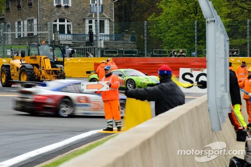 #57 Krohn Racing Ferrari 458 Italia: Tracy Krohn, Nic Jonsson Michele Rugolo