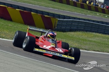 Jacques Villeneuve drives his father's 312 T4