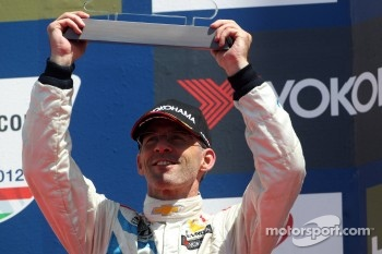 3rd position Alain Menu, Chevrolet Cruze 1.6T, Chevrolet