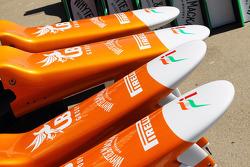 Sahara Force India F1 VJM05 nosecones
