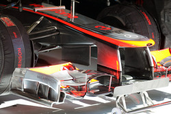Front wing of Jenson Button, McLaren