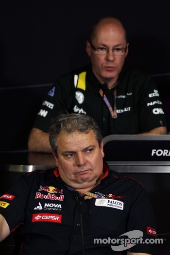 Gianni Ascanelli, Scuderia Toro Rosso Technical Director in the FIA Press Conference