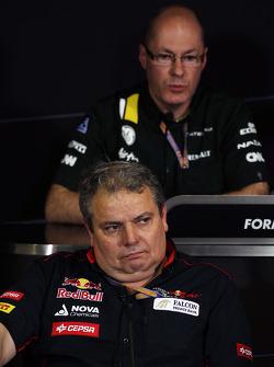 Gianni Ascanelli, Scuderia Toro Rosso Technical Director in the FIA Press Conference