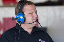 Kurt Busch's crew chief, Nick Harrison
