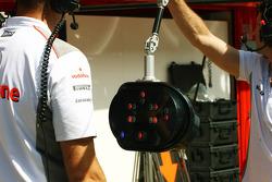 McLaren it stop light system