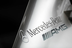 Mercedes AMG F1 engine cover