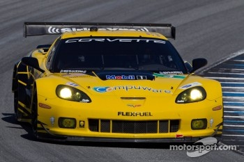 #4 Corvette Racing Chevrolet Corvette C6 ZR1: Oliver Gavin, Tommy Milner