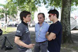 Roberto Merhi, Carlos Sainz Jr, Carlos Sainz