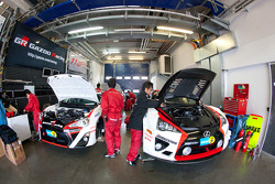 Gazoo Racing garage area