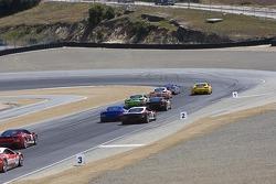 Race start #2 Ferrari of Ft. Lauderdale Ferrari 458 Challenge: Alex Popow