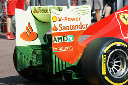 Aero vis paint on the Ferrari