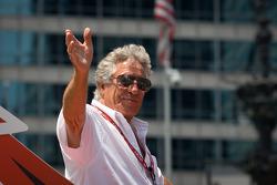 Indy 500 festival parade: Mario Andretti
