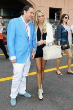 Petra Ecclestone, with boyfriend