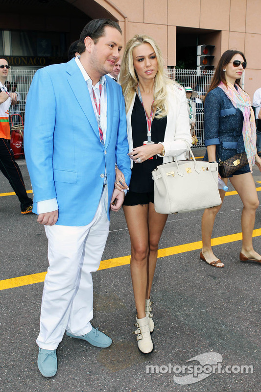 Petra Ecclestone With Boyfriend At Monaco GP