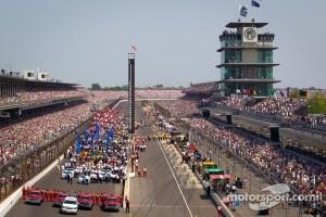 Pre-race ceremony