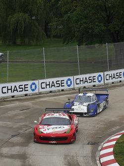 #69 AIM Autosport Ferrari 458: Emil Assentato, Jeff Segal #60 Michael Shank Racing w/Curb-Agajanian Ford/Riley: Oswaldo Negri, John Pew