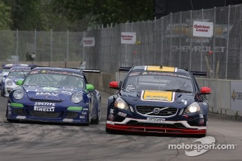 Alex Figge, Volvo S60 Steve Ott, Porsche 997 Cup