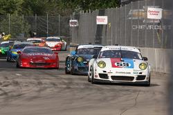 #59 Brumos Racing Porsche GT3: Leh Keen, Andrew Davis #67 TRG Porsche GT3: Steven Bertheau, Spencer Pumpelly #31 Marsh Racing Corvette: Boris Said, Eric Curran