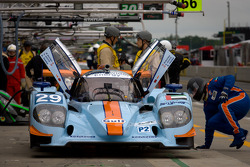 #29 Gulf Racing Middle East Lola B12/60 Coupe Nissan: Keiko Ihara, Jean-Denis Deletraz, Steve Quick