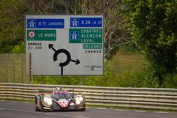 #13 Rebellion Racing Lola B12/60 Coupe Toyota: Andrea Belicchi, Harold Primat, Jeroen Bleekemolen