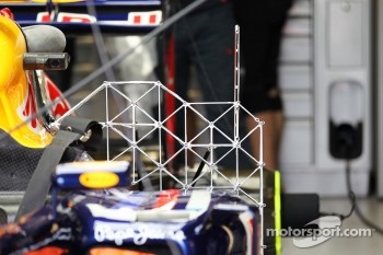 Sensor equipment on the Red Bull Racing