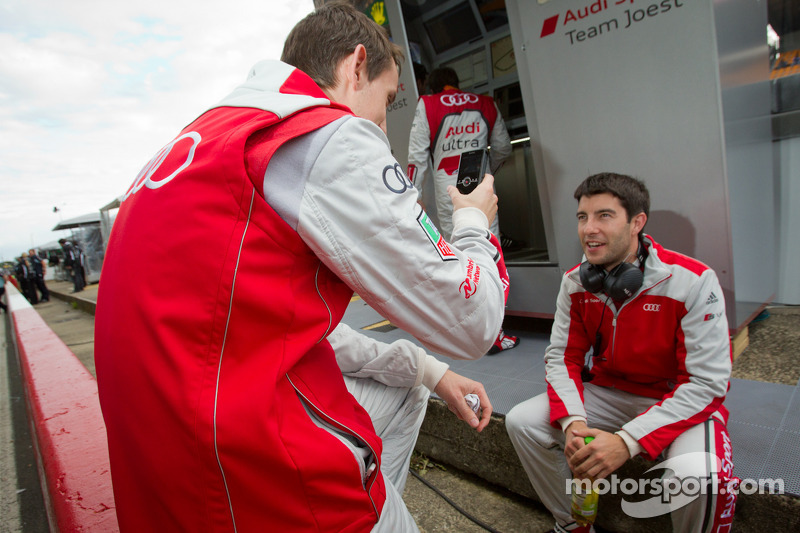 Oliver Jarvis and Mike Rockenfeller