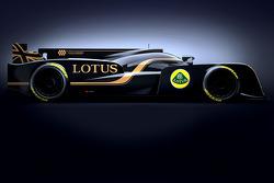 Lotus unveils its 2013 LMP2 project