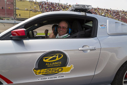 Jack Roush is the pace car driver