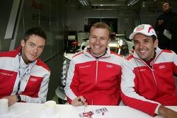 Andre Lotterer, Marcel Fässler, Benoit Tréluyer