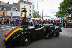 The winners' trophy for the 24 Hours of Le Mans