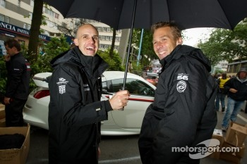 Marino Franchitti and Michael Krumm