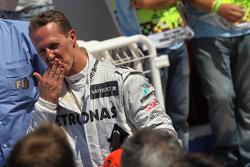 3rd place Michael Schumacher, Mercedes AMG Petronas