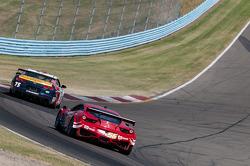 #56 AF-Waltrip Ferrari 458: Rui Aguas, Robert Kauffman, #75 Stevenson Motorsports Chevrolet Camaro GT.R: Matt Bell, Ronnie Bremer