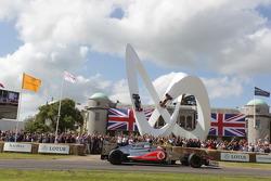 Jenson Button drives his McLaren