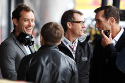 Jude Law, Actor with the Lotus F1 Team