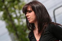 Racecar grid girl